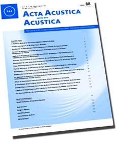 Acta Acustica United with Acustica