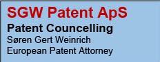 SGW Patent ApS